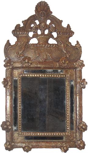 An 18th Century French Rococo Giltwood Mirror No. 3664