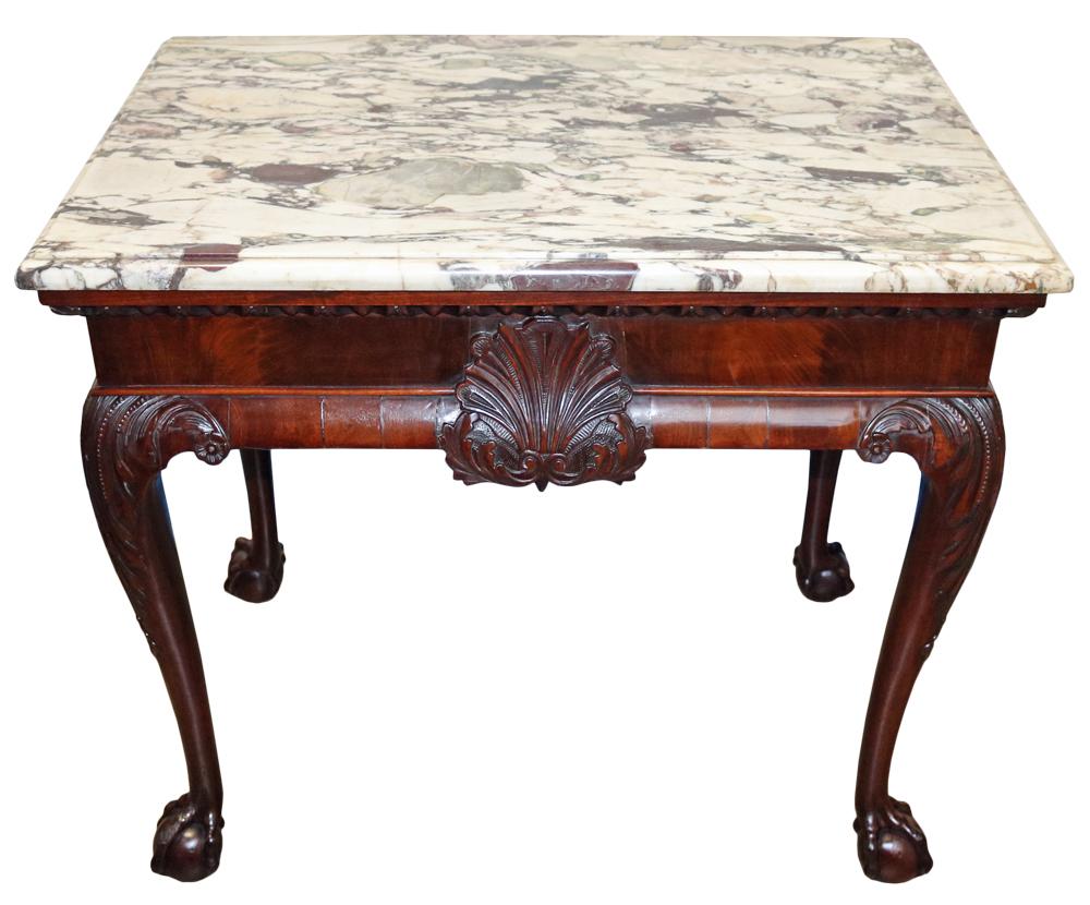 An Impressive 18th Century Irish Mahogany Console Table No. 2761