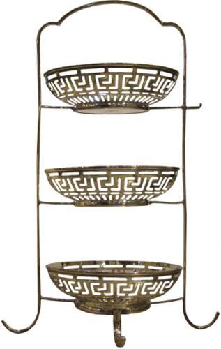 A Delicate 19th Century English Sheffield Sterling Silver-Plated Sweets Stand No. 3814