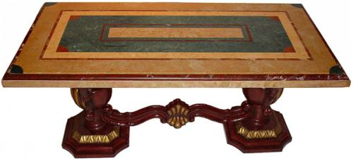 An Extraordinary Italian Petite Coffee Table No. 3034