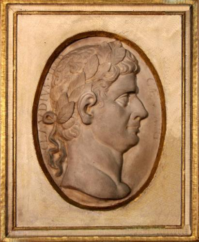 A 19th Century Italian Marble Plaque of the Roman Emperor Claudius No. 4134