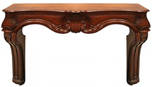 An 18th Century Italian Walnut Fireplace Mantel No. 4202