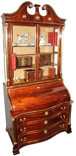 An 18th Century Russian Mahogany Secretaire No. 4285