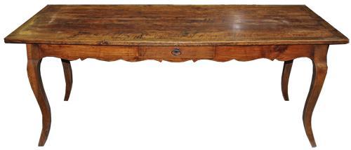 A 19th Century French Cherrywood Farm Table No. 4470
