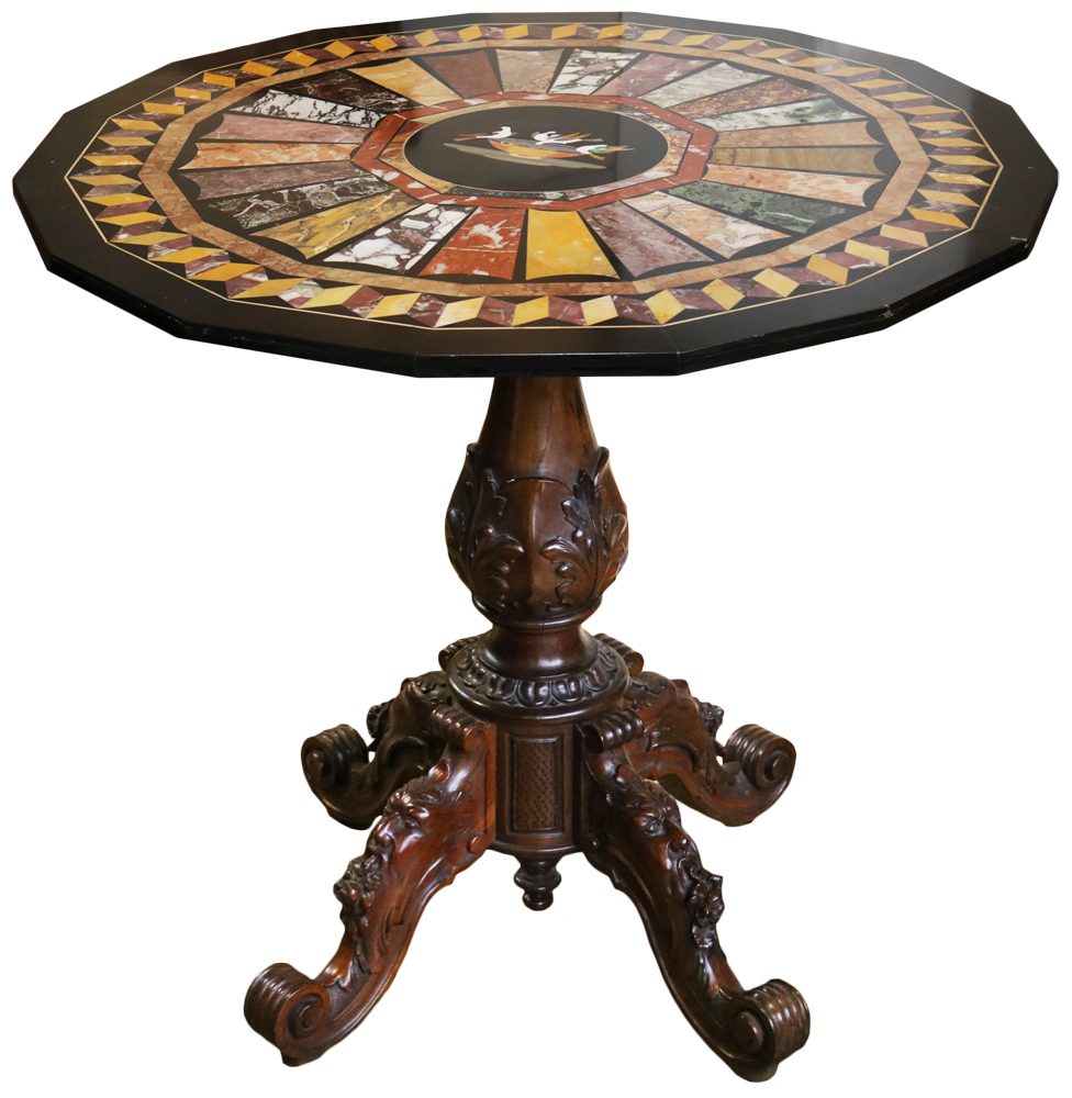 A 19th Century Italian Specimen Table No. 3603