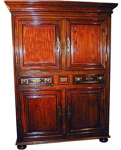 A Handsome 18th Century Ash Armoire No. 1031