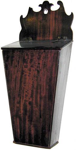 A Fine 18th Century Mahogany Provincial Cutlery Box No. 583