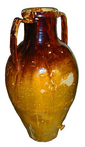 An Italian Olive Oil Jar No. 1701