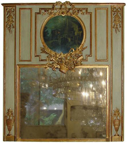 A French Louis XVI Trumeau Mirror No. 1848