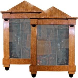 A Fine Pair of 19th Century Austrian Biedermeier Mirrors No. 647