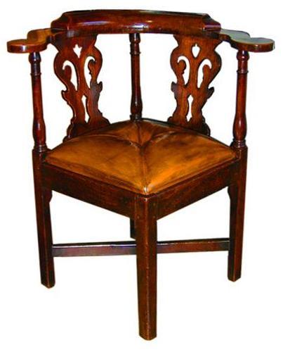 An 18th Century English Corner Chair No. 2078