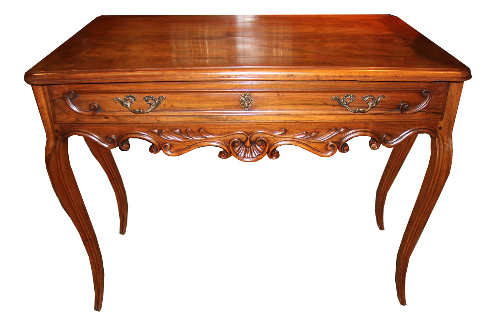 An 18th Century Italian Louis XV Cherry Side Table No. 4591
