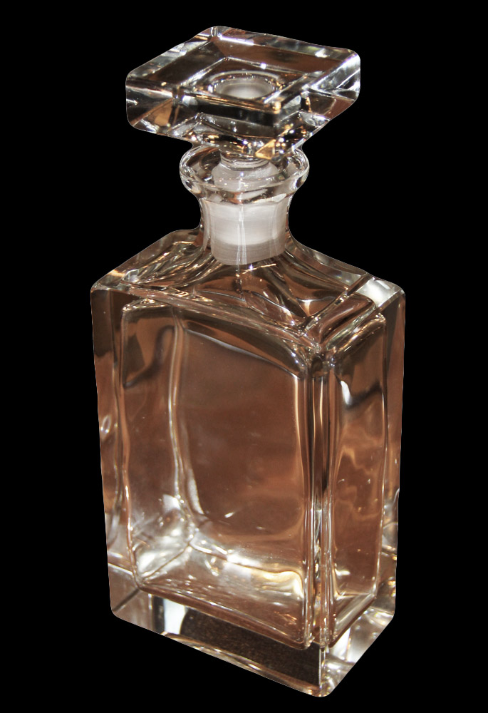 A Fine 19th Century French Crystal Decanter No. 108