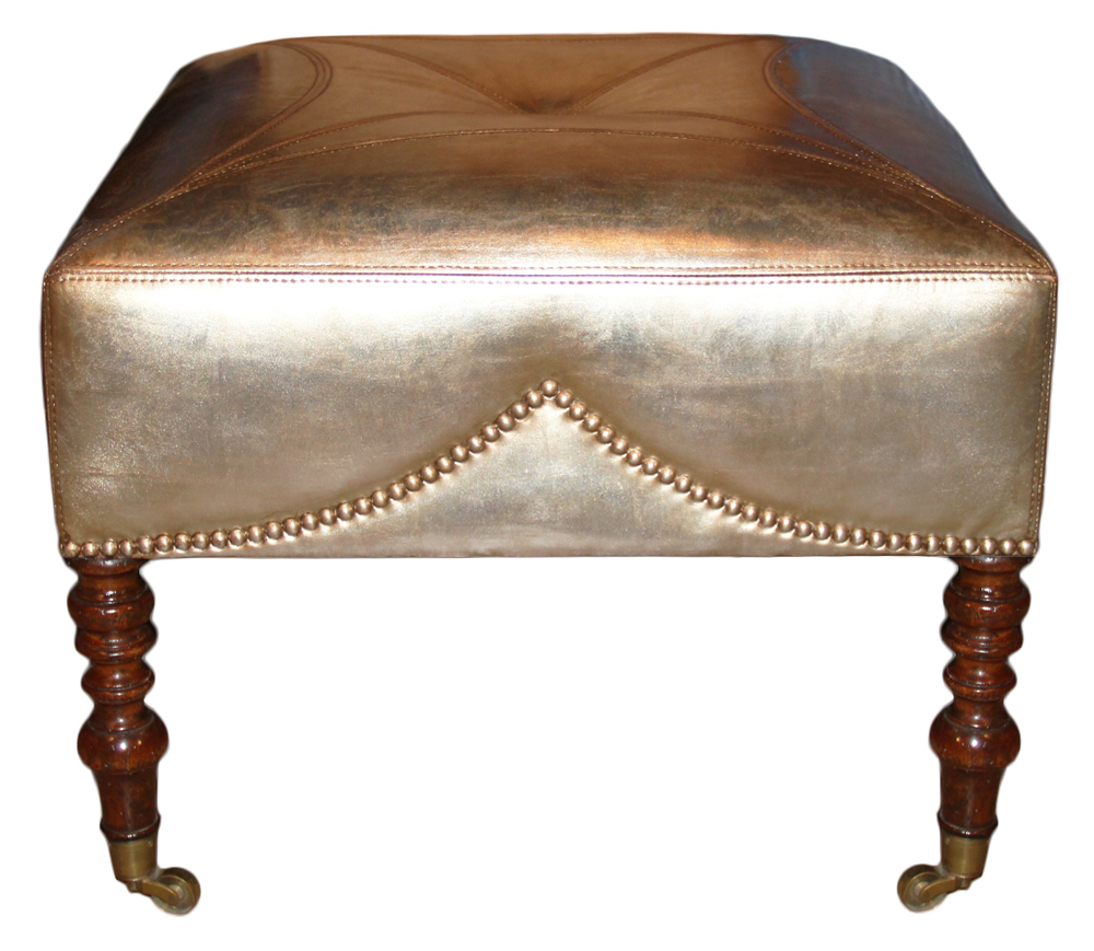 A 19th Century English William IV Mahogany Ottoman No. 4640