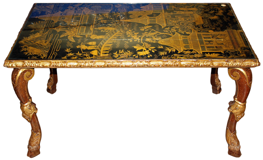 An 18th Century Chinese-Export Coffee Table No. 4658
