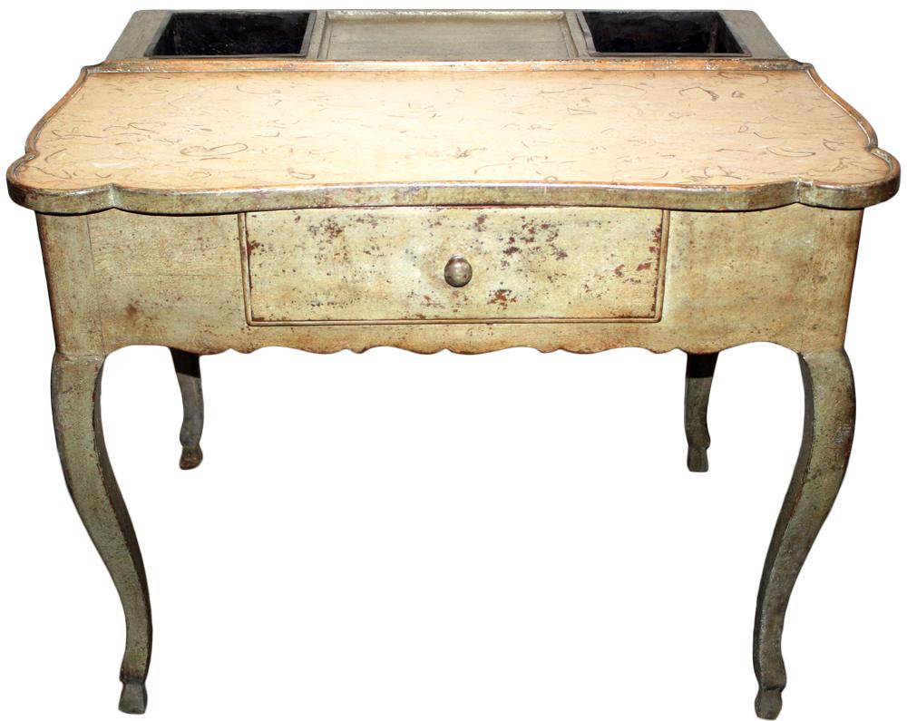 An 18th Century French Louis XV Polychrome Rafraichissoir No. 4667