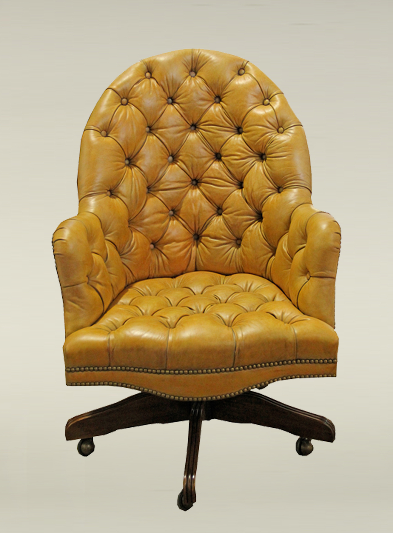 Parma Tufted Desk Chair No. 3504