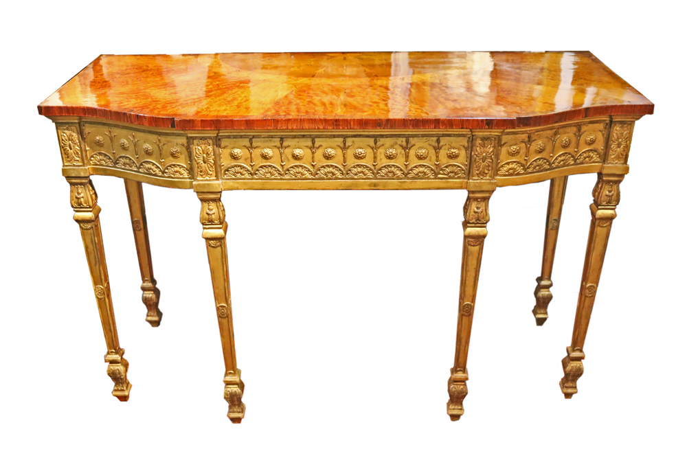 An Exceptional 18th Century English George III Console Table No. 4740