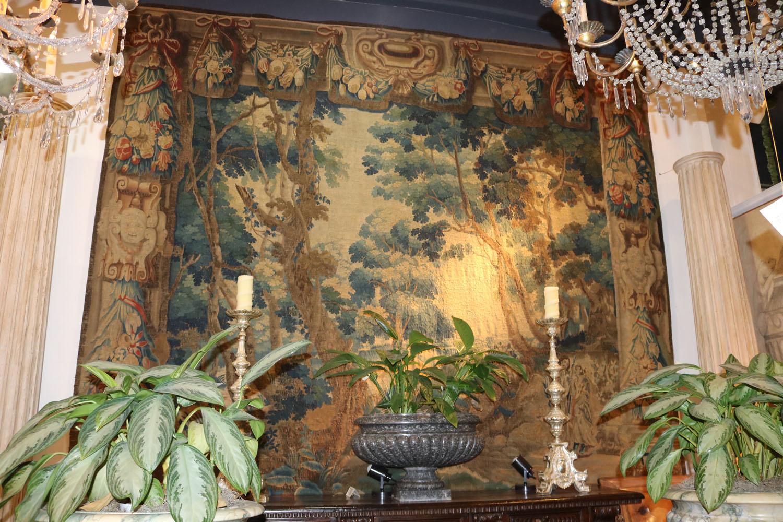 A 17th c. Flemish Verdure Tapestry no. 0037