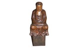 A 17th Century Asian Buddha Statue No. 4820