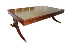 An English 19th Century Regency Partner's Desk No. 4821