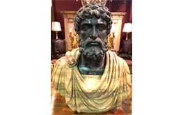 A Very Fine Carved Marble Bust of Emperor Adrian No. 4818