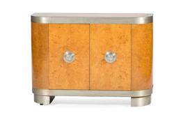 Art Deco Birdseye Maple Credenza No. 4832